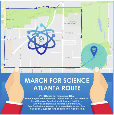 March for Science Atlanta